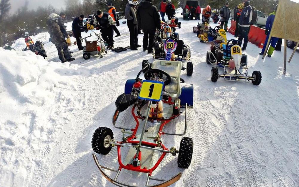 Ice Karting: где покататься в Подмосковье